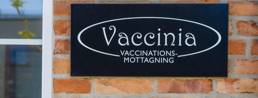 vaccinia motttagning